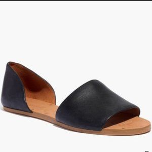 Madewell Black Leather Thea Sandal